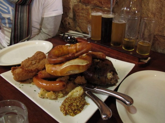 We took some time out on the Sunday to visit Hahndorf and sample some beer and wurst.