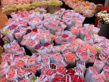 Bangkok flower markets
