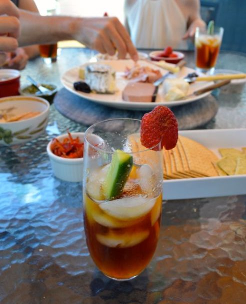 Mooloolaba Pimms cheese platter