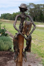Artwork at Twisted Gum Wines.