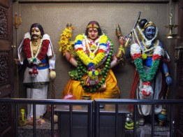 Inside a Hindu temple, Kuala Lumpur