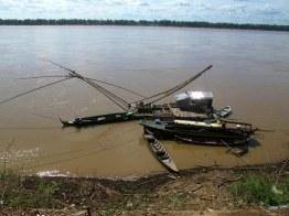 Mekong river, Kratie Cambodia.