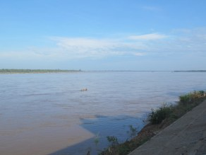The Mekong is more vast than I ever thought it would be.