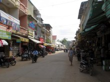 Main street, Kratie.