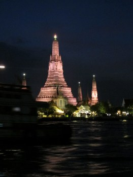 Wat Arun by night.