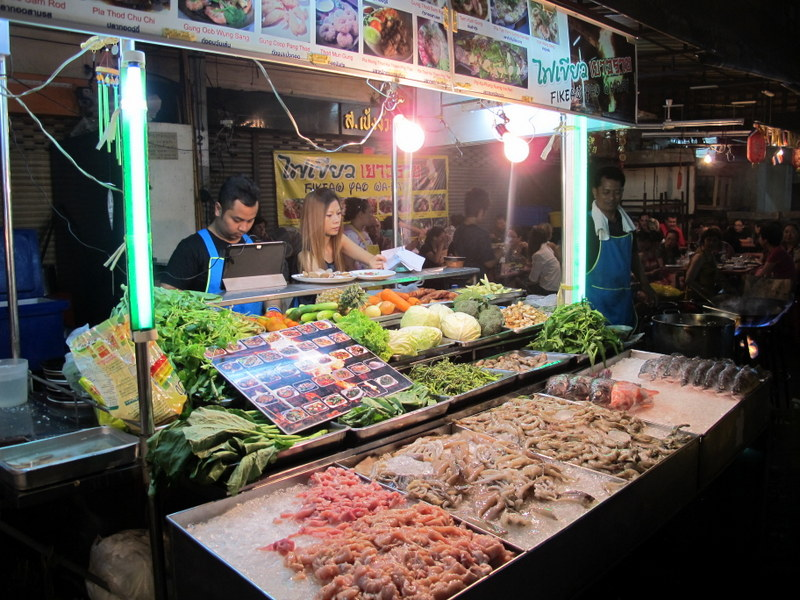 Street food in Chinatown, Bangkok