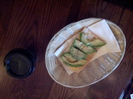 Avocado on toast and coffee Gresham Bar
