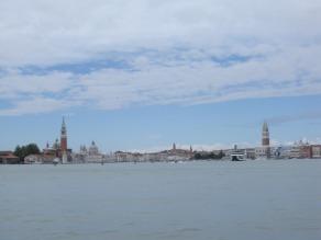 View on the way into Venezia