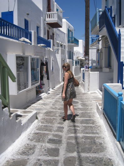 Getting lost in Mykonos