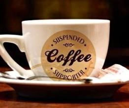 Suspended coffee in Brisbane
