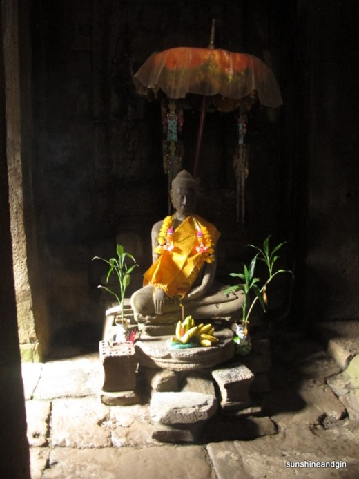 One of the many shrines in the Temples.