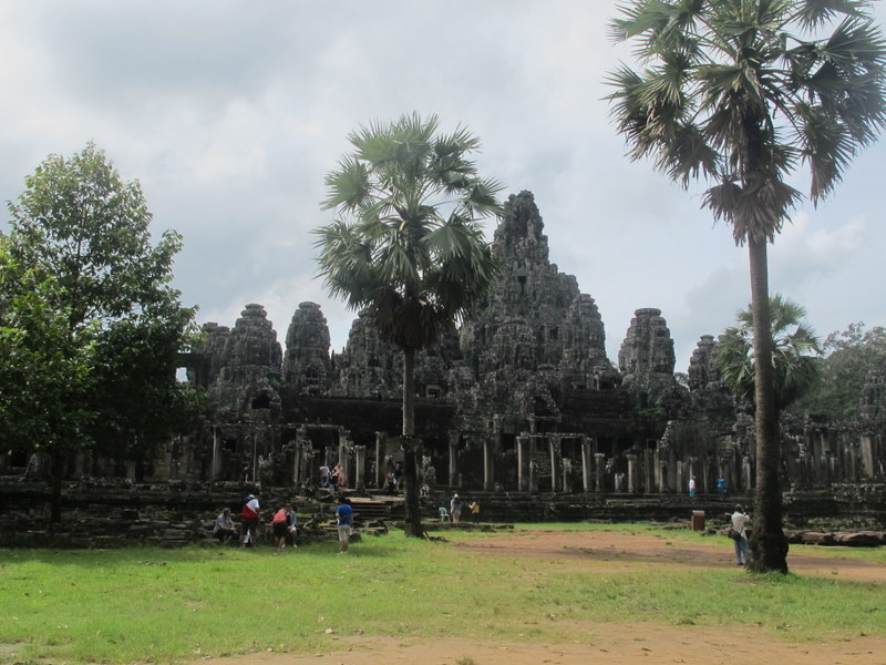 Bayon, part of the Angkor Thom complex.