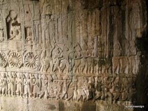 Beautiful wall carvings.