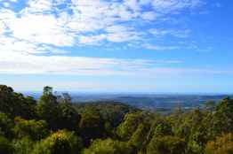 View of the coast from Mount Tamborine