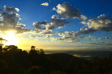Glorious sky and view Tamborine