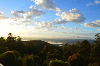 Dawn over the Gold Coast Hinterland, Tamborine