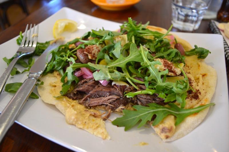Shouk Cafe Lamb Shwarma