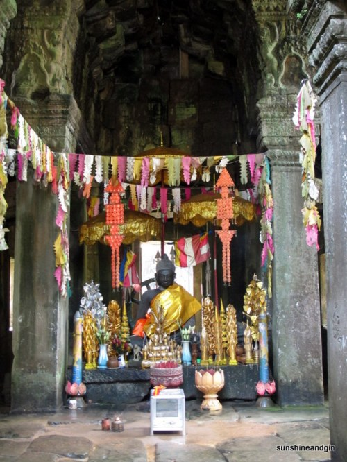 One of the larger shrines around Angkor.