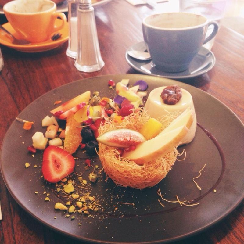Breakfast at Shouk Cafe Paddington