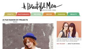 A beautiful mess website