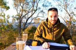 Tom at Spicers Peak Lodge