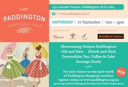 Paddington Boutique Fair