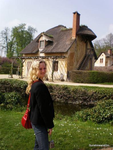 Birgit at Petit Trianon, Versailles