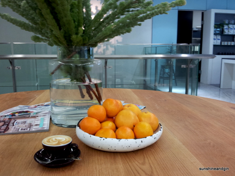 Citrus and coffee at Irving Place