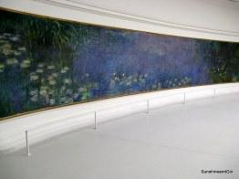 Monet's Waterlillies in L'Orangerie
