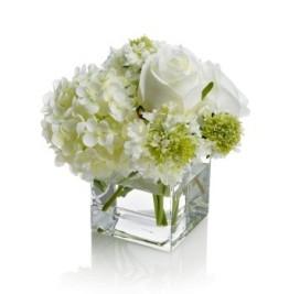 White flowers Diner en Blanc