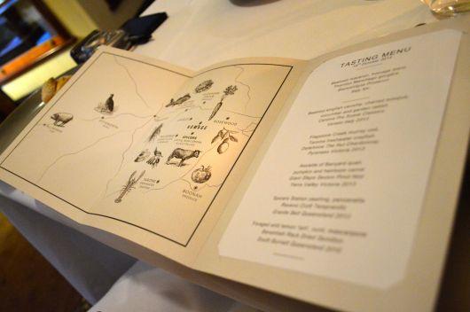 Homage menu