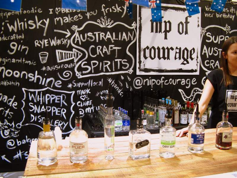Nip of Courage at the Brisbane Good Food and Wine Show.