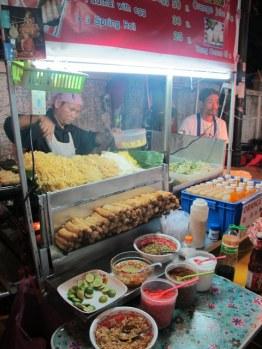 Pad Thai on the streets of Bangkok