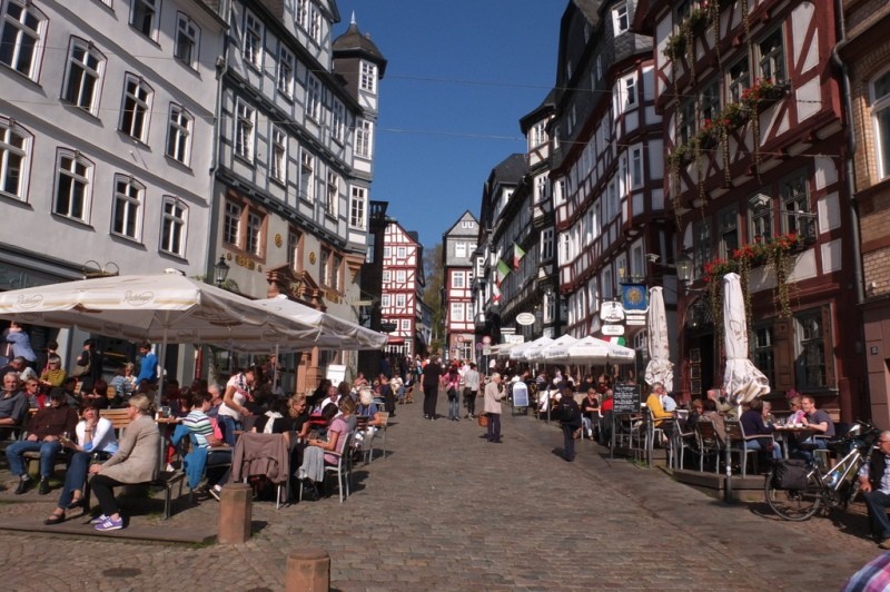 Typical Altstadt anywhere in Germany.