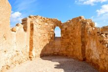 Byzantine Church at Masada