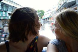 Kirst and Amanda, Bangkok