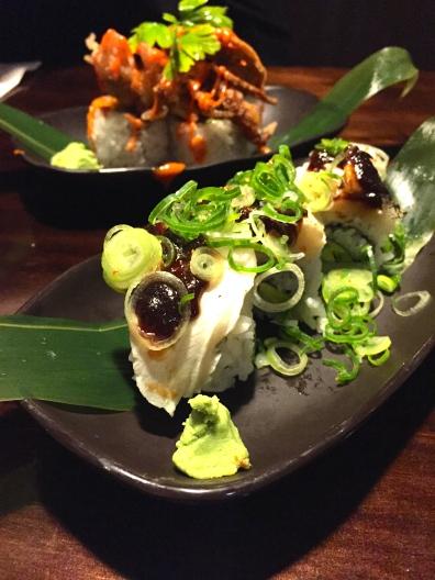 Seared Kingfish Sushi