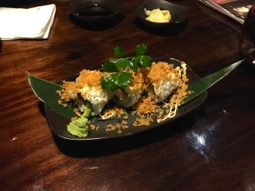 Chicken Cutlet Sushi