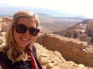 Kirst at Masada