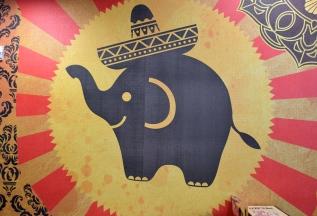 Cute elephant logo at Indimex