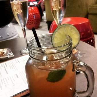 Rum cocktails at Nest Brisbane