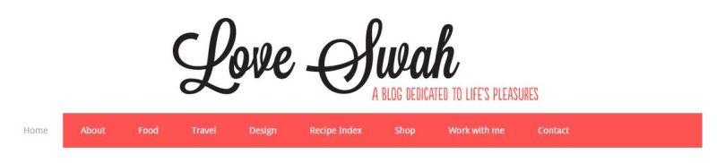 Love Swah blog