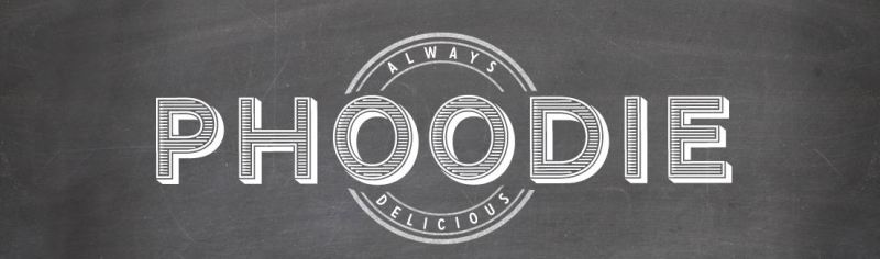 Phoodie food blog logo
